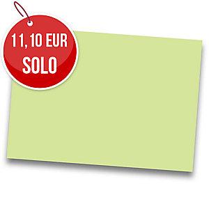Pack de 25 cartulinas IRIS de  50x65 185g/m2 cm color verde manzana