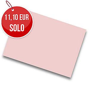 Pack de 25 cartulinas IRIS de  50x65 185g/m2 cm color rosa