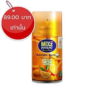 MIXZ HYGIENIC สเปรย์ปรับอากาศรีฟิล กลิ่นส้ม 300 มิลลิลิตร