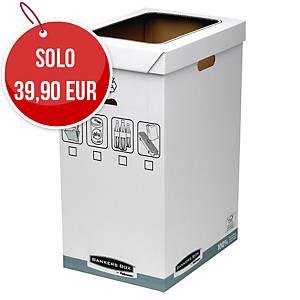Contenitori per riciclo Bankers Box by Fellowes cartone 90 L - conf. 5