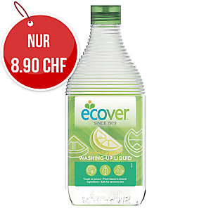 Ökologisches Handgeschirrspülmittel Zitrone & Aloe Vera Ecover, Flasche à 1 l