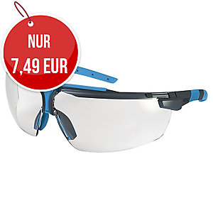 UVEX I-3 Schutzbrille anthrazit/ blau
