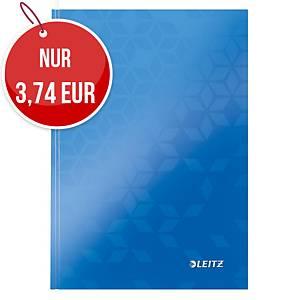 Leitz WOW Notizbuch A5, liniert, blau