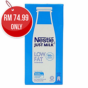 NESTLE LOW FAT MILK 1000ML - PACK OF 12