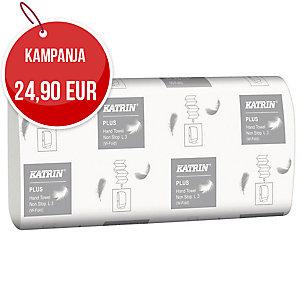Katrin Plus non stop L3 käsipyyhe, valkoinen, myyntierä 1 kpl = 15 pkt