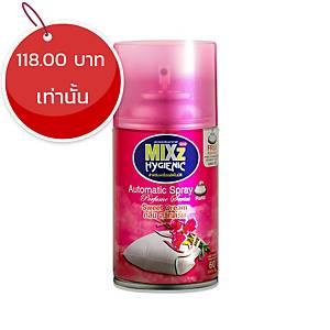 MIXZ HYGIENIC สเปรย์ปรับอากาศรีฟิล กลิ่นสวีทดรีม 300 มิลลิลิตร
