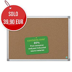 Pannello sughero Bi-Office Earth-it 120 x 90 cm