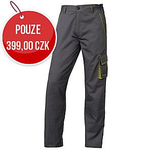 Kalhoty Panostyle, barva šedá/zelená, velikost S