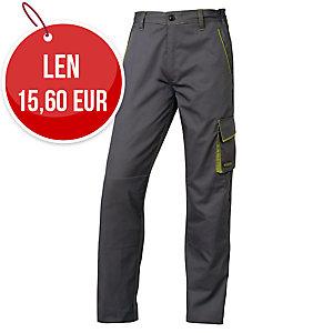 Pracovné nohavice DELTAPLUS PANOSTYLE M6PAN, veľkosť L, sivo-zelené
