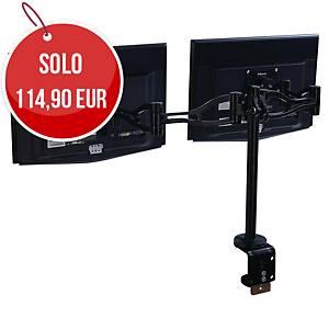Braccio monitor Fellowes Professional Series per monitor doppio