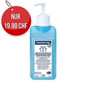 Hartmann Sterillium Gel Händedesinfektion mit Pumpe, Flasche à 475 ml