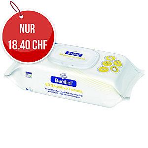Hartmann Bacillol,  desinfizierende Tücher, Packung à 80 Stück