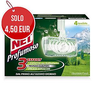 Tavoletta solida WC Net profumoso mountain fresh - conf. 4