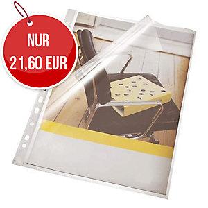 Bene Prospekthülle DIN A4, Stärke: 100 µm, transparent, 100 Stück