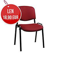 Konferenčná stolička Antares Taurus červená