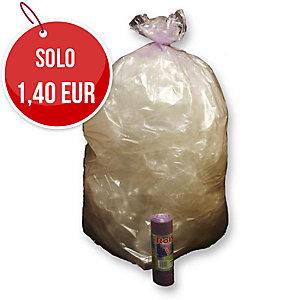 Sacchi spazzatura Rolsac 110 L viola - rotolo 10