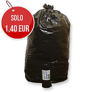 Sacchi spazzatura Rolsac 110 L nero - rotolo 10