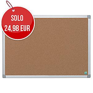 Pannello sughero Bi-Office Earth-it 90 x 60 cm