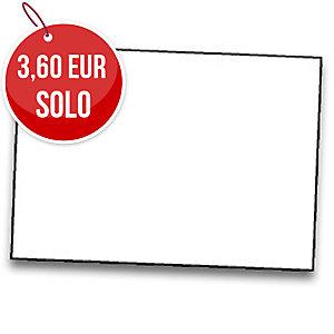 Pack de 25 cartulinas FABRISA 50x65 180g/m2 color blanco