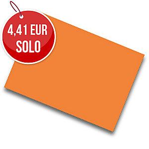 Pack de 25 cartulinas FABRISA 50x65 180g/m2 color naranja