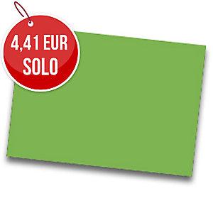 Pack de 25 cartulinas FABRISA 50x65 180g/m2 color verde
