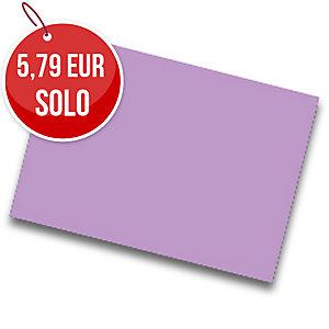 Pack de 25 cartulinas FABRISA 50x65 180g/m2 color lila