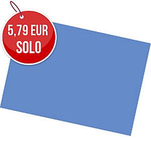 Pack de 25 cartulinas FABRISA 50x65 180g/m2 color azul oscuro