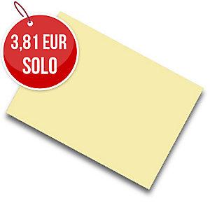 Pack de 25 cartulinas FABRISA 50x65 180g/m2 color crema