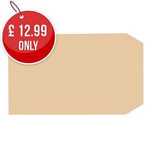 Lyreco Manilla Envelopes 229x102mm Gum 70gsm - Pack Of 1000