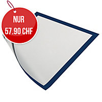 Wandzeigtasche Durable Duraframe 4869-07, A4, magnetisch, blau, Pk. à 5 Stk.