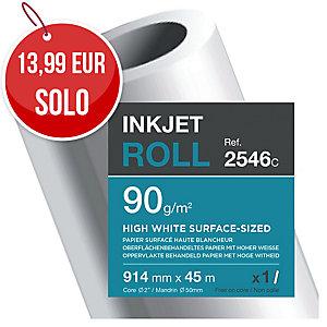 Rollo de papel de Plotter Clairefontaine 90g 914mmx45m