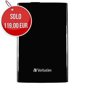 Disco rigido portatile Verbatim 2 TB USB 3.0 nero