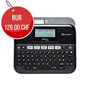 Beschriftungsgerät Brother P-touch D450VP, QWERTZ Tastatur, schwarz