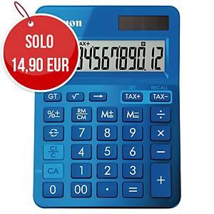 Calcolatrice da tavolo Canon LS-123K 12 cifre blu