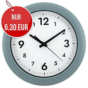 Alba Easy Time Wanduhr grau, 30 cm