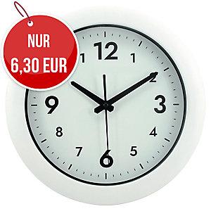Alba Easy Time Wanduhr, weiß