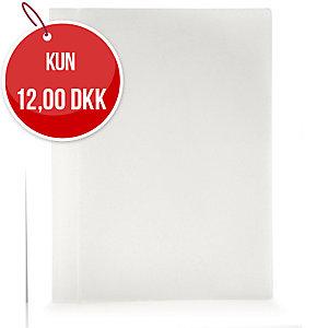 Tilbudsmappe Plast Petter, A4, frost