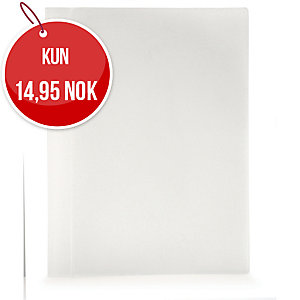 Tilbudsmappe Plast Petter, A4, frosted