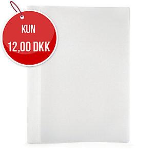 Tilbudsmappe Plast Petter, A4, hvid