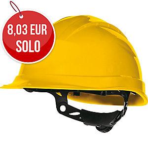 Casco de seguridad DELTAPLUS Quartz Up III amarillo no ventilado
