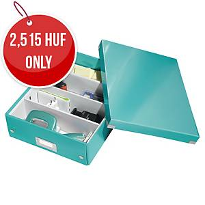 LEITZ CLICK & STORE BOX MEDIUM A4 ICEBLU