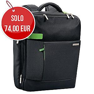 ZAINO SMART TRAVELLER LEITZ PER PC DA 15.6  NERO