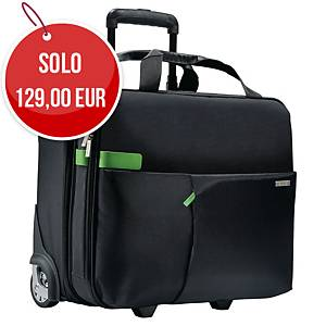 Pilotina trolley portacomputer 15,6   Leitz Complete Smart Traveller nero