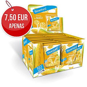 Pack de 14 pacotes de bolachas de milho natural MINI NACKIS 25g