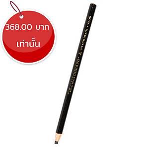 MITSUBISHI ดินสอเขียนกระจก 7600 ดำ กล่อง 12 แท่ง