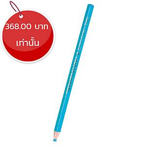 MITSUBISHI ดินสอเขียนกระจก 7600 ฟ้า กล่อง 12 แท่ง