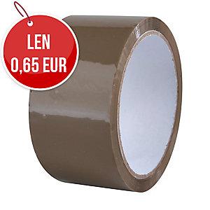 Baliaca páska Havana, 48 mm x 66 m, 40 μm, hnedá