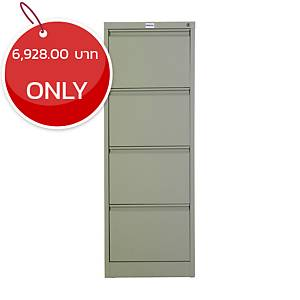 METAL PRO MET-F04 Steel Filing Cabinet 4 Drawers