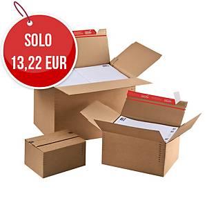Scatola imballo cartone ColomPac altezza variabile 312x223x140-224mm - conf. 10
