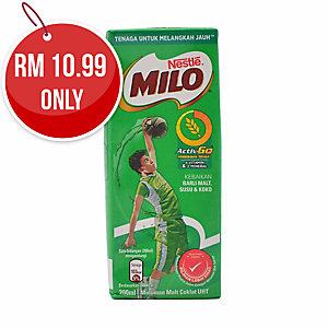 NESTLE MILO UHT 200ML - PACK OF 6